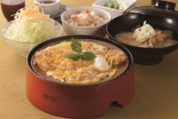 ロースかつ熱鍋定食